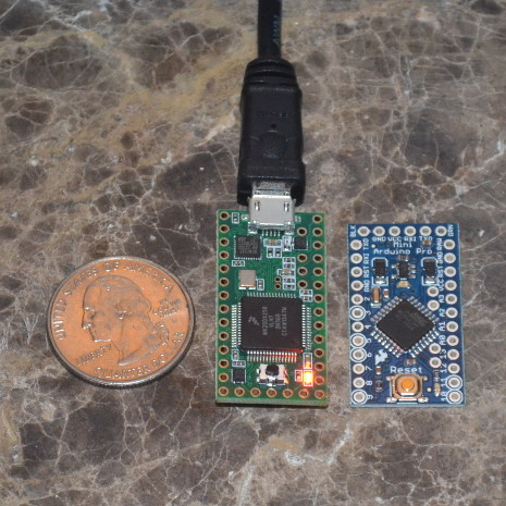 Arduino Pro Mini vs Teensy 3
